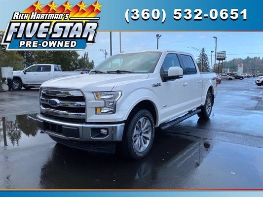 2017 Ford F 150 Lariat 4wd Supercrew 5 5 Box Used In Aberdeen Wa Aberdeen Ford F 150 Rich Hartman S Five Star Ford Lincoln