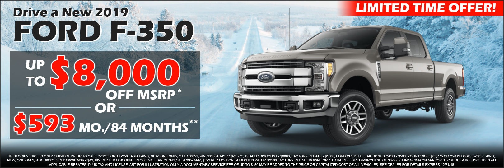 2019 ford f 350 special